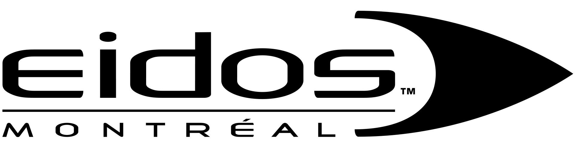 Eidos-Montreal Logo - Black